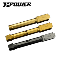 XPOWER AA Outer Barrel TM System G17/18 GLOCK fit Kublai P1 upgrade package glock 17 airsoft accessories