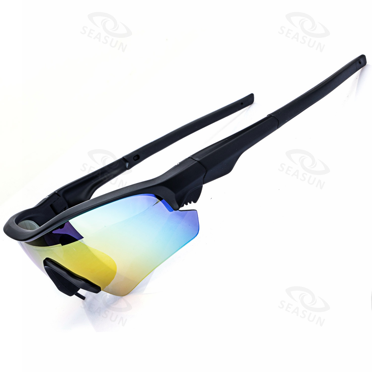 2019 New Style Set Glasses For Riding Outdoor Polarized Light Athletic Glasses Changeable PCs Men And Women Goggles Customizable