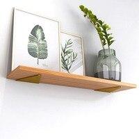 2 pezzi staffa a parete staffa per mensola in metallo supporto per mobili supporto per mensola a muro angolo fisso Bookhelf tavolo allungabile angolo in metallo