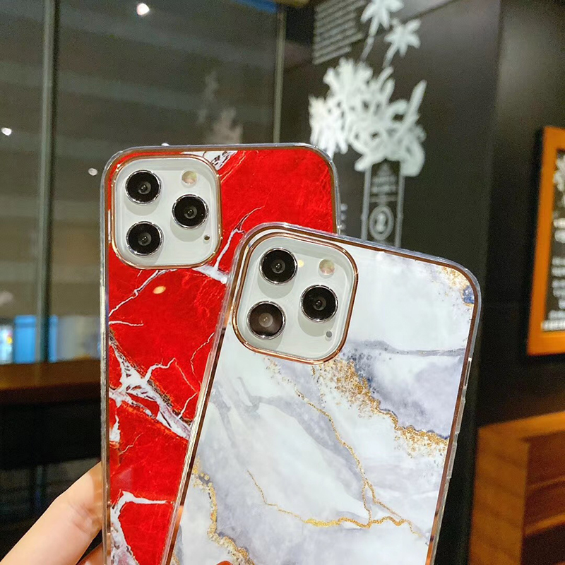 iPhone 12 Pro max Marble glass Case