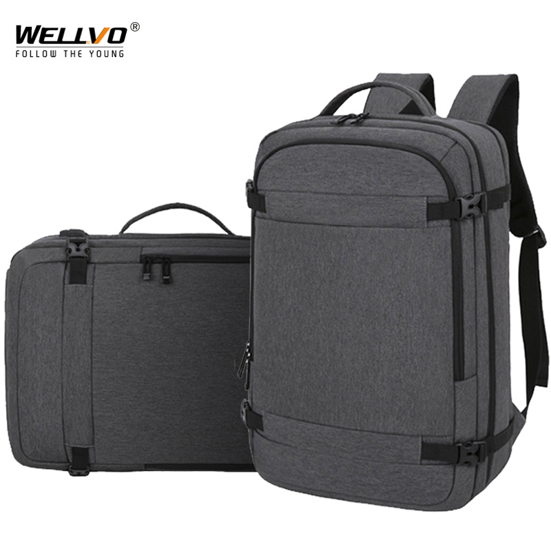 USB Backpack Work Bag 15.6 '' Laptop Notebook Mochila Male Waterproof Back Pack Backbag Large Capacity School Backpacks XA609ZC