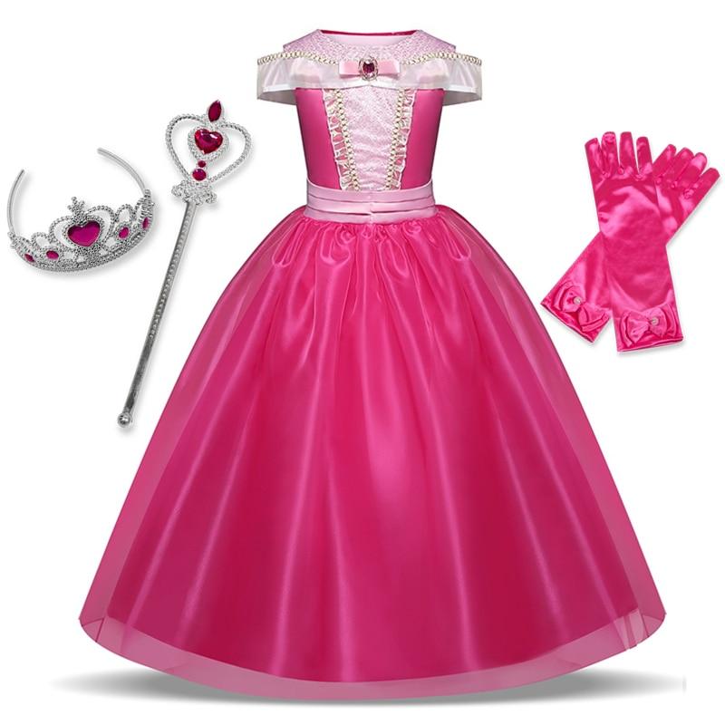 Vestido de princesa para niñas, Disfraz de fantasía para niños, Halloween, Carnaval, Cosplay, ropa para niños