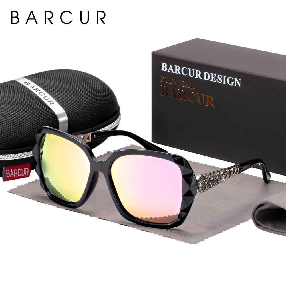 BARCUR Original Sunglasses Women Polarized Elegant Design For Ladies Sun Glasses Female 10