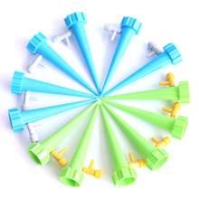 6/12Pc Automatische Drip Irrigatiesysteem Watering Kit Auto Flow Verstelbare Regelklep Zelf Water Bloem Plant Water apparaat