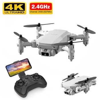 Neue Mini Drone 4K 1080P HD Kamera WiFi Gps Luftdruck Höhe Halten Schwarz Und Grau Faltbare Quadcopter RC drone Spielzeug