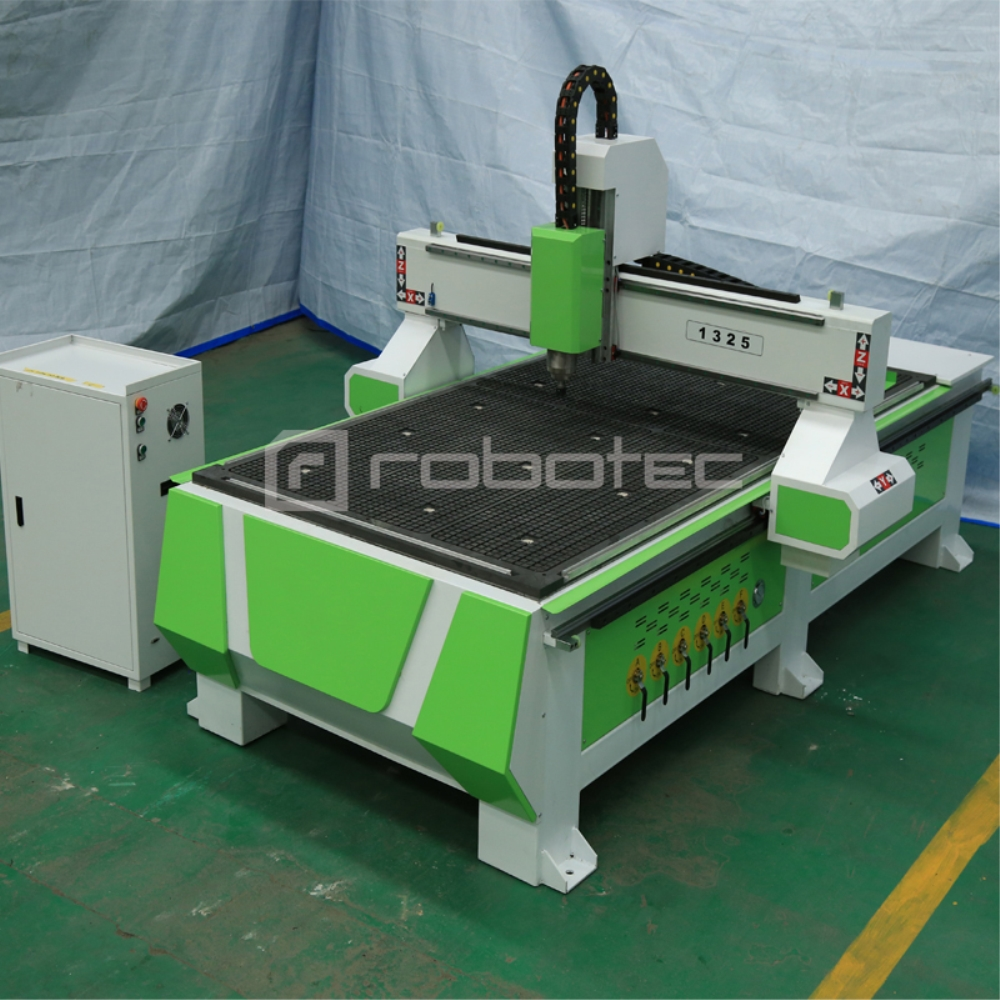 Cheap Price 3kw Spindle Router Machine Cnc 1325 Vacuum Table And T-slot Combined 1300*2500mm CNC Router For Furniture Production