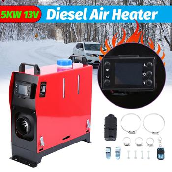 Samger 12V 5KW Diesel Heater Air Heater LCD Monitor One Hole Car Heater for webasto 12V Diesel Trucks Motor+LCD key Switch car autonomous heater 12v 24v 5kw diesel air heater parking fuel heater for trucks boat bus auxiliary heater in electric heaters