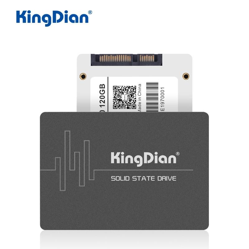 KingDian SSD 120GB 240GB 480GB 1TB 2TB Hard Drive Disk SSD SATA SATA3 2.5'' Solid State Drives Internal SSD 128GB 256GB 512GB