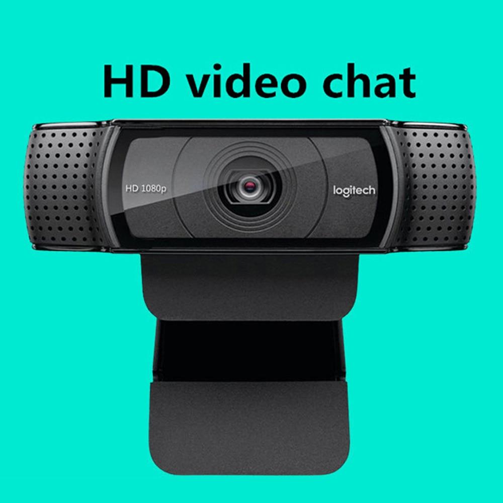 Logitech C920e/c920 HD Pro Webcam Widescreen Video Calling And Recording 1080p Camera, Desktop Or Laptop Webcam C920