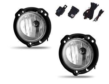 Чехол для Toyota Avanza противотуманный светильник 2012 галогенная противотуманная фара H16 12V 19W с монтажным комплектом и переключателем Бесплатная...