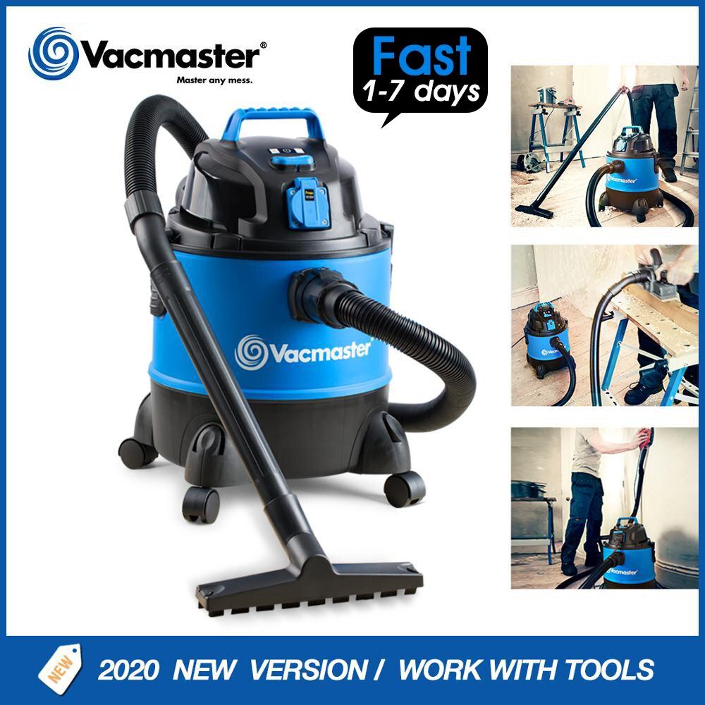 Vacmaster 18Kpa мощный бытовой пылесос с гнездом для электроинструмента домашняя влажная Химчистка прибор Автомобильный Очиститель