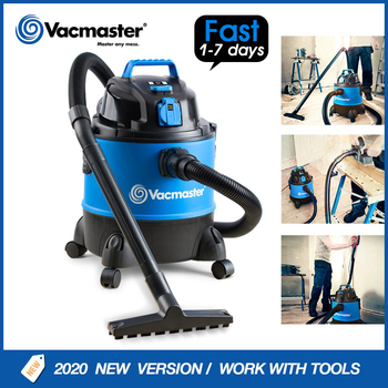 Vacmaster With Power Tool Socket Household Powerful Carpet Vacuum Cleaner wet and dry Multi-purpose Small Machine VQ1220PFC