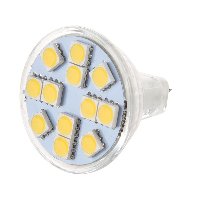 New MR11 <font><b>G4</b></font> 12 <font><b>LED</b></font> Spot <font><b>Light</b></font> <font><b>Bulb</b></font> Warm White New image