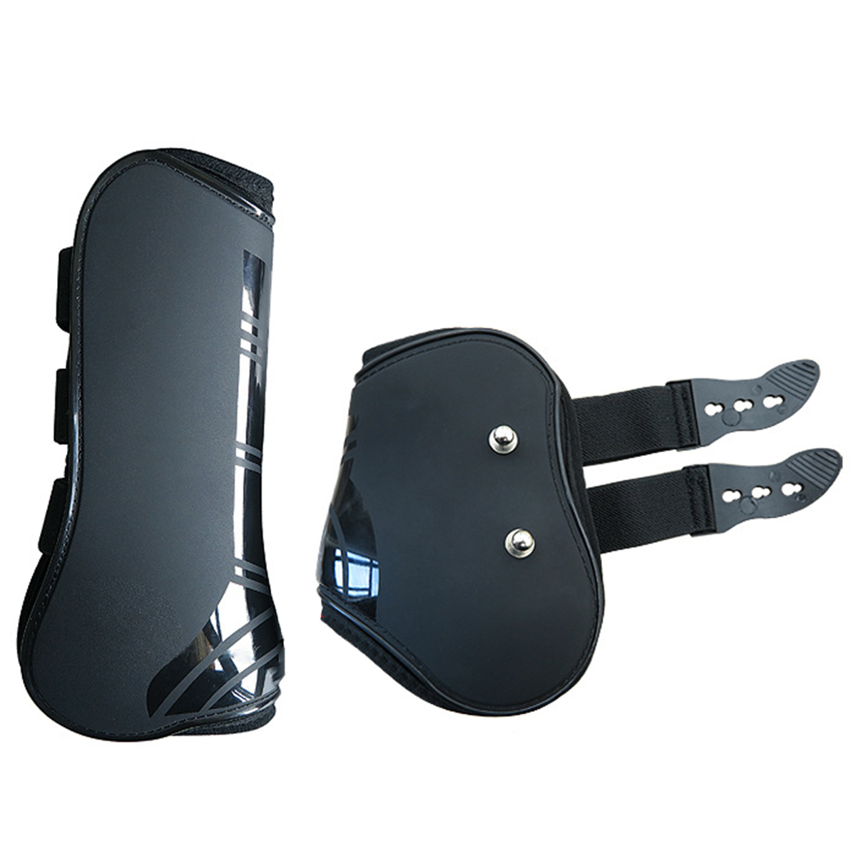 4pcs/Lot Horse Front Hind Leg Boots Adjustable Horse Leg Guard Protector For Equestrian Tendon Protection Horse Leggings