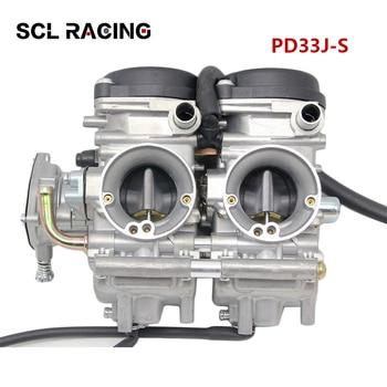 Alconstar 1PC Motorcycle 33mm Carburetor PD33J-S Carb For YAMAHA RAPTOR 660 660R YMF660 2001-2005 500cc 600 700cc Racing Motor