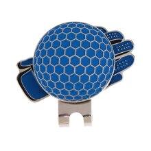 Смешная перчатка дизайн гольф шляпа клип с магнитным шариком маркер гольф подарок