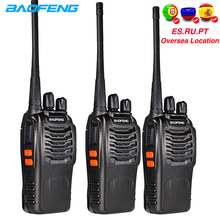 3pcs Baofeng 888S ווקי טוקי 6km חובבי CB רדיו bf 888s 5W שתי בדרך רדיו רכב FM משדר bf888s פנימי צעצוע Comunicador