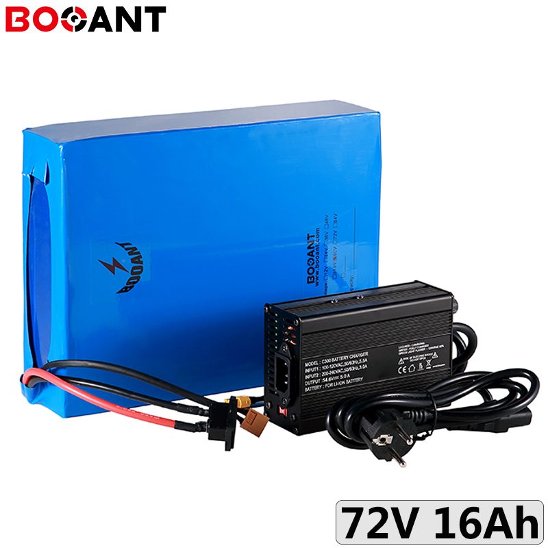 72V 16Ah 1000W 1500W mountain electric bicycle battery for Panasonic 18650 20S 72V 1800W electric scooter battery +5A Charger|Electric Bicycle Battery| |  - title=