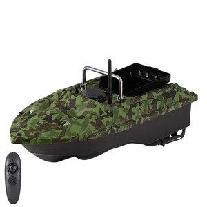 Image 5 - 新機能固定速度クルーズリモートコントロール釣りファインダーボート 1.5 キロ 500 メートルデュアル夜の光ルアー釣りスマートrc餌ボート