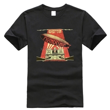 Led-Zeppelin-Mothership-Distressed-Image-Black-T-Shirt-New-O
