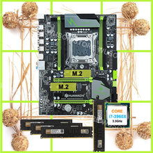 Brand new HUANAN ZHI deluxe X79 motherboard with M.2 slot CPU Intel Core i7 3960X 3.3GHz new 32G DDR3 1600MHz desktop memory(China)