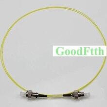 Kabel światłowodowy zworka FC FC UPC SM Simplex 0.9mm GoodFtth 0.5 3m