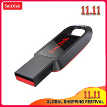 Original SanDisk CZ61 USB Flash Drive 128 GB GB GB 16 32 64 GB Pen Drive Pendrive USB 2.0 Flash drive Memory stick USB flash disk(China)