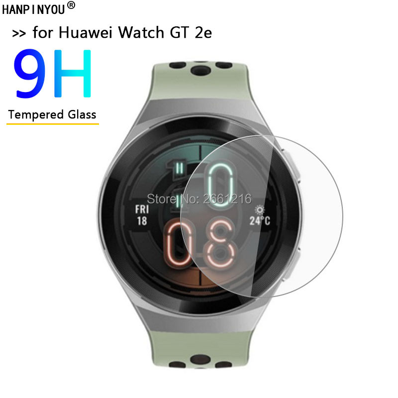For Huawei Watch GT2e 46 MM HD Clear Tempered Glass Ultra-thin 9H 2.5D Premium Screen Protector Film For Huawei Watch GT 2e 46mm