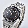 Schwarz дозор залива мужские роскошные брендовые автоматические механические часы Военные Спортивные часы для плаванья механические часы из ...