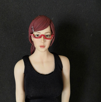 1/6 Scale Japan Character Lin Hao Has Head Sculpt with Glasses for 12''Action Figures Bodies Accessories