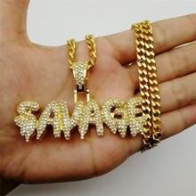 Модное ожерелье fdlk в стиле хип хоп латунная цепочка золотого