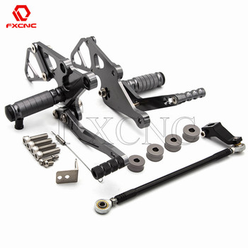FOR YAMAHA MT-07 FZ07 MT07 2013-2017 XSR700 2015-2018 Adjustable Rear Set Motorcycle Rearsets Rear Sets Foot Pegs Pedal Footrest