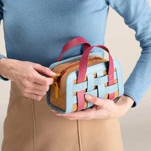 Плетеные мини сумки через плечо для женщин летняя модная дизайнерская