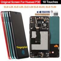 LCD Display For Huawei P30 ELE L29 L09 L04 Original OLED Screen Support Fingerprint LCD For Huawei P30 P 30 Display Replacement