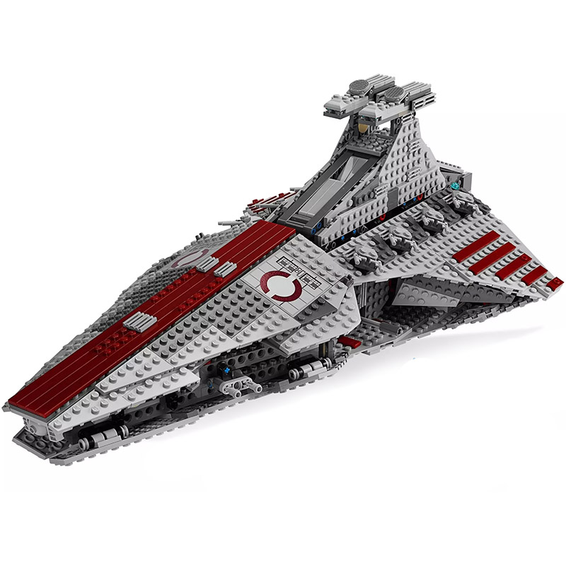 New 2019 Star Series Wars The Venator-class Republic Attack Cruiser StarWarlys  Model Building Blocks Compatible Lepining Toys