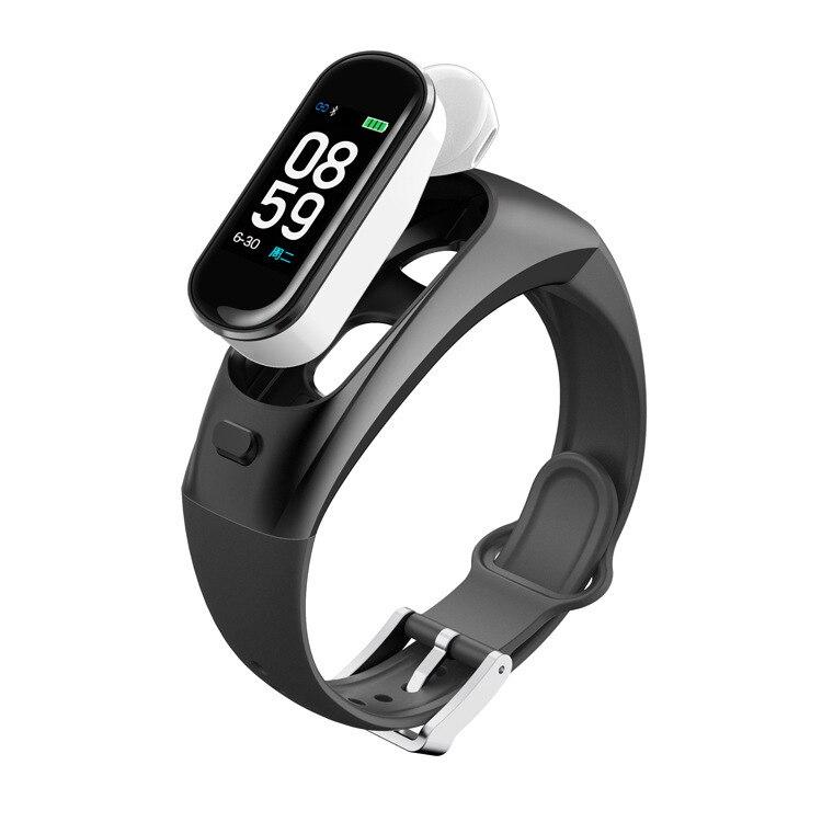 H109 Bluetooth appelant le Bracelet intelligent IP67 imperméabilisent l'information de surveillance de l'oxygène de sang de tension artérielle de Base en métal S