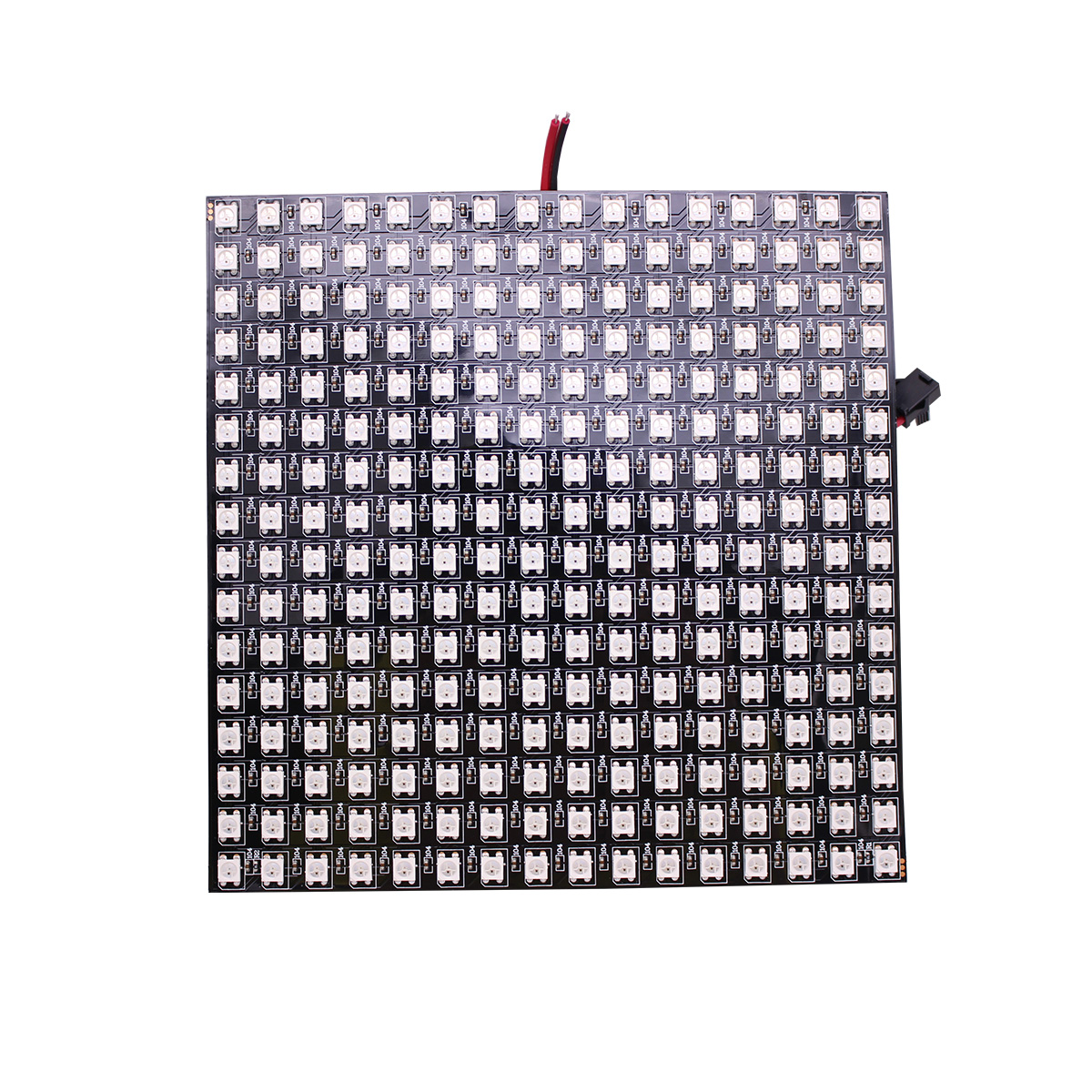 P10mm 16*16 pixels 256leds flexible mini led matrix ws2812 WS2812b(China)