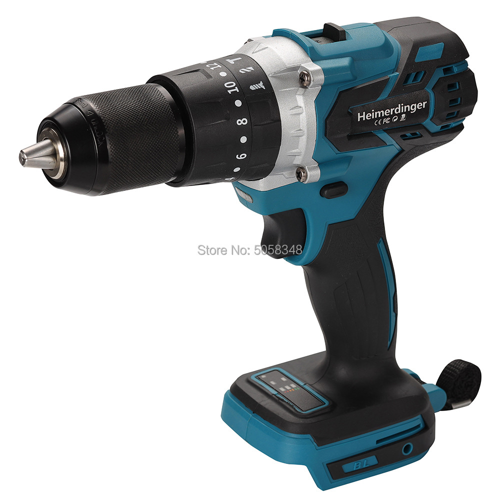 Impact 1830 Drill Compatible 1850 Drill Cordless 1840 Brushless Body Screwdriver 13mm 18V Drill Impact 1860