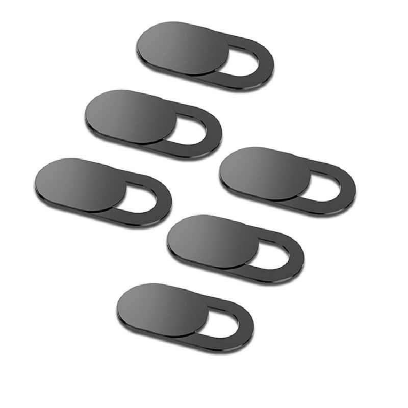 Ultra ince webcam kapağı panjur mıknatıs Slider kamera kılıfı Macbook Pro dizüstü bilgisayarlar için telefon Lens web cam gizlilik Sticker