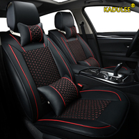 KADULEE 1pcs front car seat cover For kia sportage 2011 2015 rio 3 4 carens carnival cerato ceed optima seats accessorieS|Automobiles Seat Covers| |  -