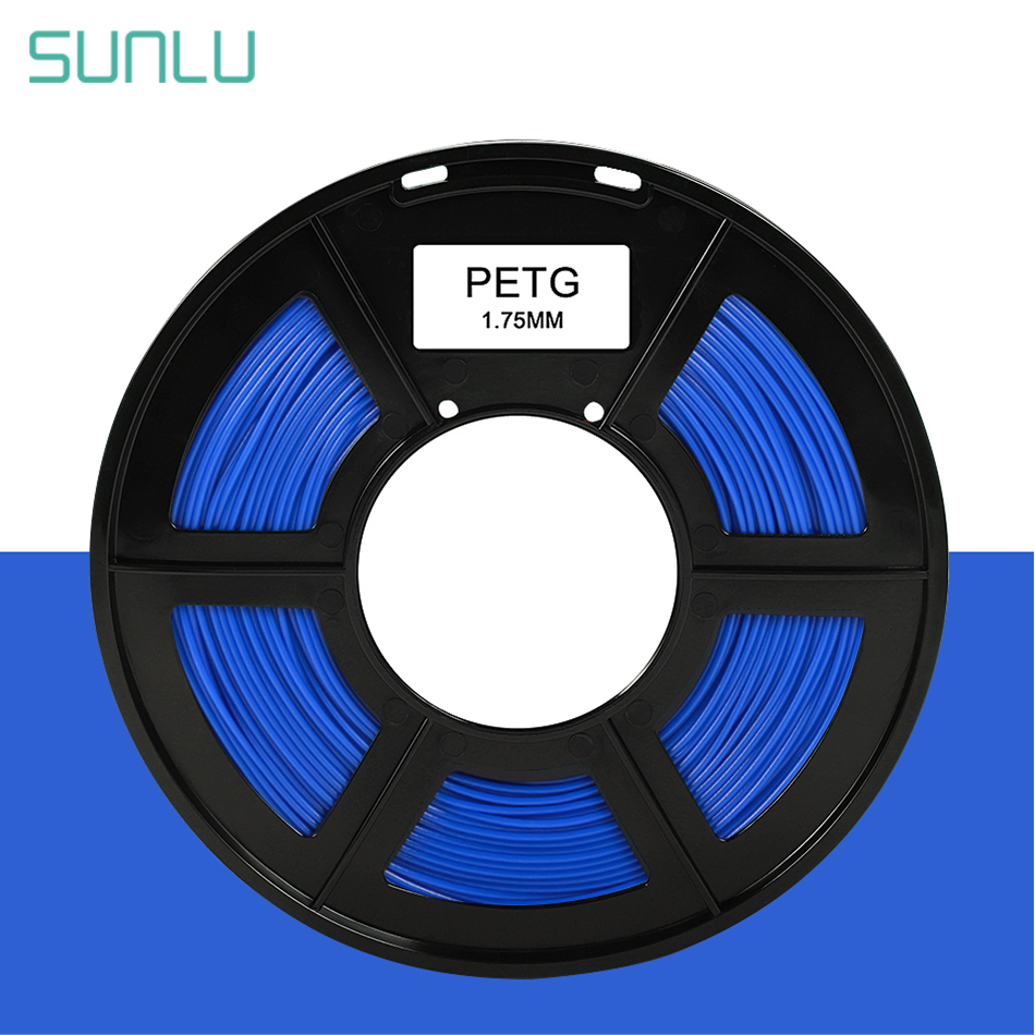 SUNLU PETG Filament 1.75mm 1kg Translucency 3D Printing Filament Plastic PETG 3d Printing Materials