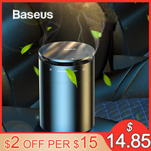 Baseus Car Air Freshener Diffuser Auto Perfume Aromatherapy Ions Formaldehyde Air Cleaner Flavoring For Car Freshner Perfume(China)