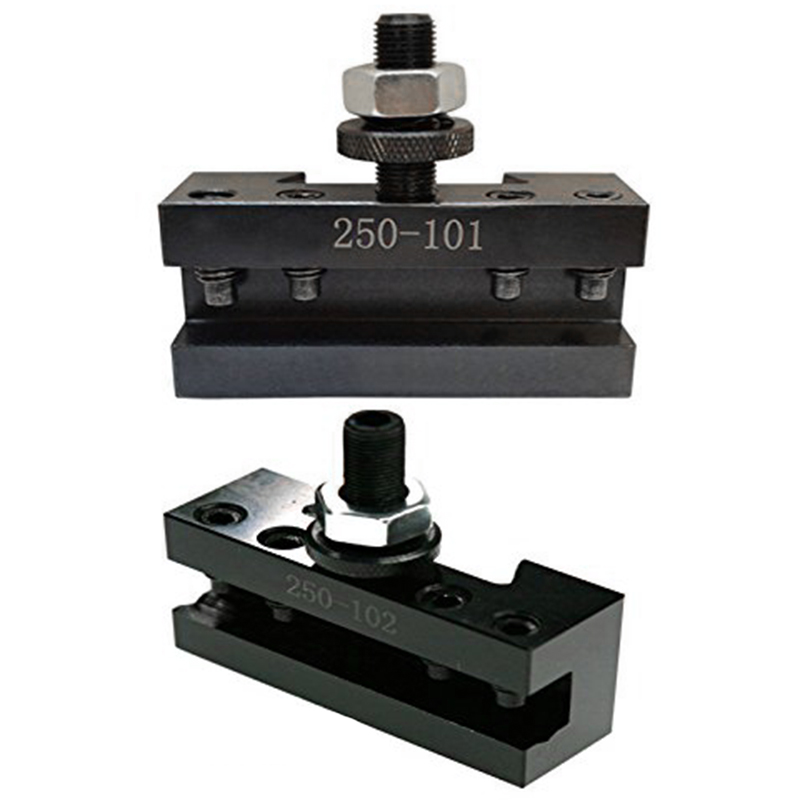 Up to 12/'/' Quick Change Tool Post Turning /& Facing Lathe Tool Holder 250-101