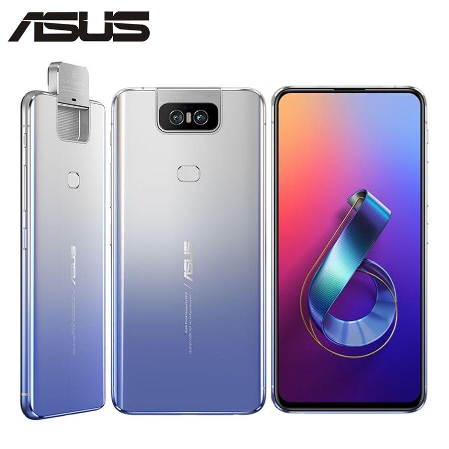 Global Version Asus Zenfone 6 ZS630KL Mobile Phone 8GB RAM 256GB ROM Snapdragon855 6.4