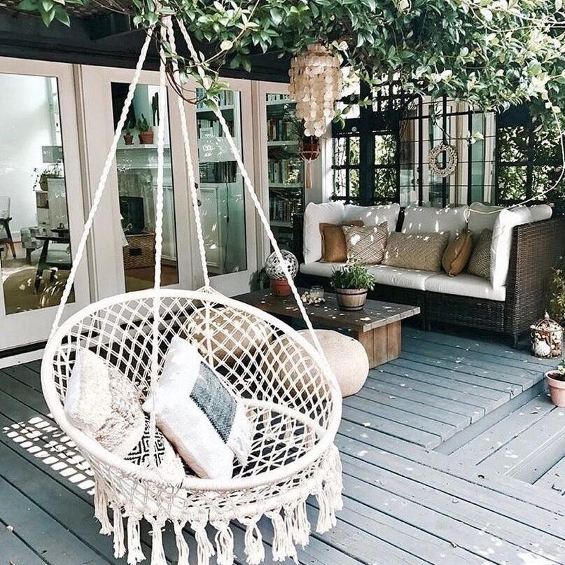 Flow Swing Swing Hanging Chair Hanging Basket Cradle Indoor Home For Home Balcony