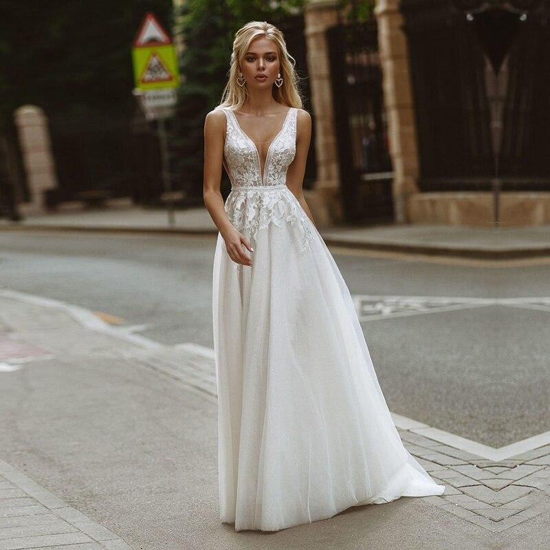 Eightale Boho Wedding Dresses  3