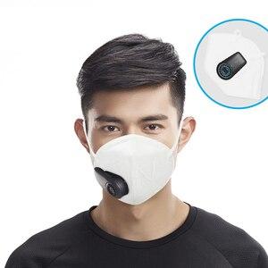 Image 2 - Youpin純粋に公害防止エアフローマスク純粋に公害防止空気フェイスマスク用交換フィルター