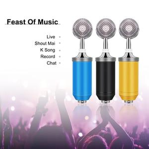 Image 2 - BM 8000 Microfono A Condensatore Kit 3.5 MILLIMETRI Studio di Registrazione Microfono Gaming KTV Karaoke Computer Youtuber