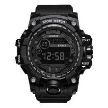 Honhx Mens Relógio de Luxo Data Esporte Digital Led Assista Hot Homens Esportes Relógio Inteligente Homens Ao Ar Livre Relógio Eletrônico Часы Мужские