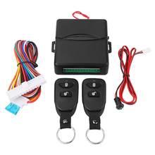 Kit de coche con sistema de bloqueo de puerta de Control remoto, sistema de bloqueo de entrada sin llave, mando a distancia Universal, sistema de alarma para coche